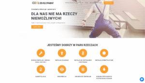strona dla firmy budowlanej cooldevelopment mysłowice strona internetowa