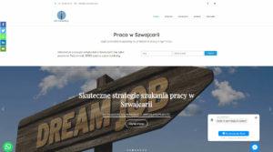 strona www dla firmy prowadzącej prace w szwajcarii