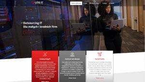 profesjonalna strona www dla firmy informatycznej outsourcing IT